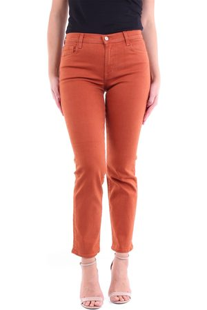 J Brand Straight jeans in rust color