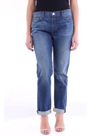 J Brand Women Boyfriend Jeans - Jeans boyfriend Women Dark jeans