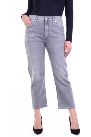 GRIFONI Women Boyfriend Jeans - Jeans boyfriend Women Grey