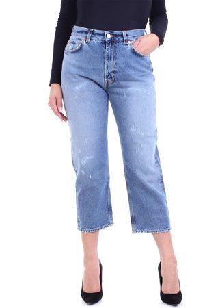 GRIFONI Boyfriend jeans with five pockets