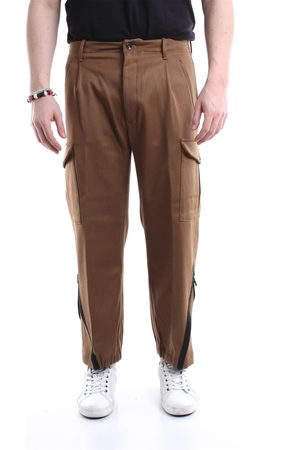 Nine In The Morning NINE: INTHE: MORNING khaki chino trousers