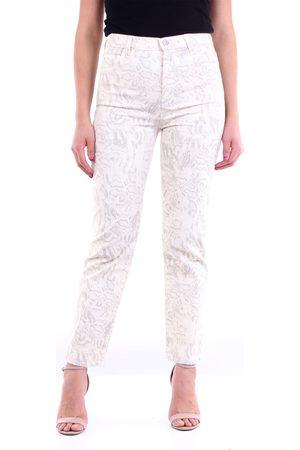 J Brand Patterned straight jeans