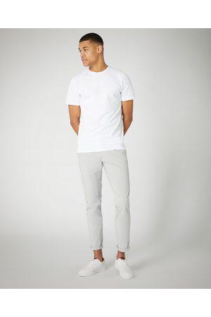Remus Uomo Slim Leg Cotton Stretch Chino Grey