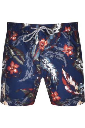 Superdry Men Shorts - Super 5S Beach Volley Shorts Navy