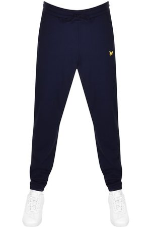 Lyle And Scott Men Sports Pants - Slim Jogging Bottoms Navy