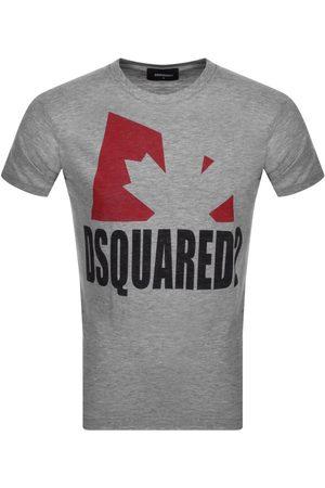 DSQUARED2 Logo T Shirt Grey