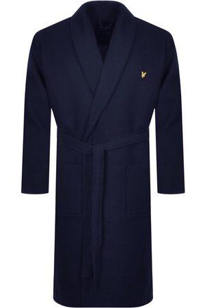 Lyle & Scott Craig Dressing Gown Navy