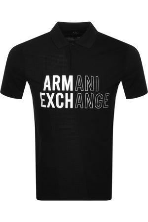 Armani Exchange Men Polo Shirts - Logo Polo T Shirt