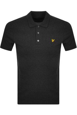 Lyle & Scott Men Short Sleeve - Short Sleeved Polo T Shirt Grey