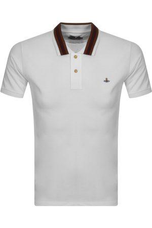 Vivienne Westwood Stripe Collar Polo T Shirt