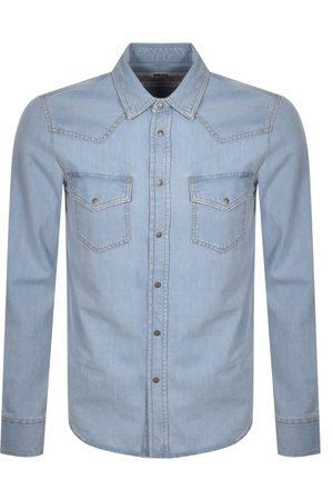 Diesel Men Long sleeves - D East Long Sleeved Shirt