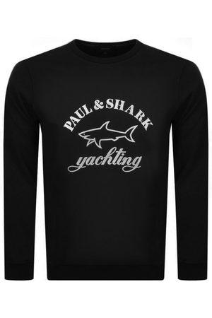 Paul & Shark Paul And Shark Crew Neck Logo Sweatshirt