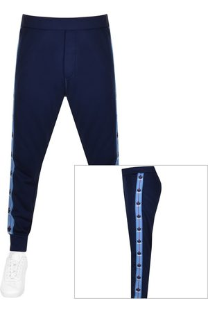 DSQUARED2 Men Tracksuits - Leaf Taped Joggers Navy