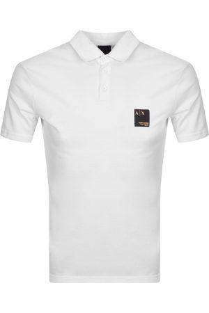 Armani Exchange Logo Polo T Shirt