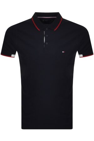 Tommy Hilfiger Slim Fit Polo T Shirt Navy
