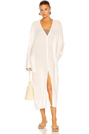 Totême Fine Cotton Beach Dress in