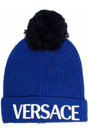 Versace Men Hats - MEN'S 10011811A008071U600 WOOL HAT