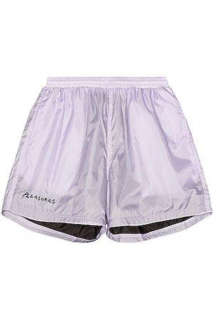 Pleasures Men Swim Shorts - VCR Active Shorts in