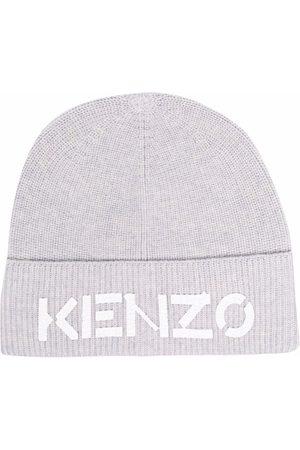 Kenzo MEN'S FA68BU111KEK93 GREY WOOL HAT