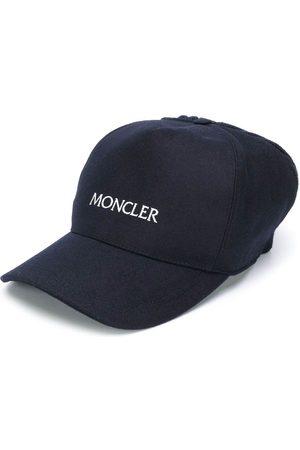 Moncler Men Caps - Embroidered logo knit cap