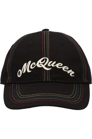 Alexander McQueen MEN'S 5765344105Q1088 COTTON HAT