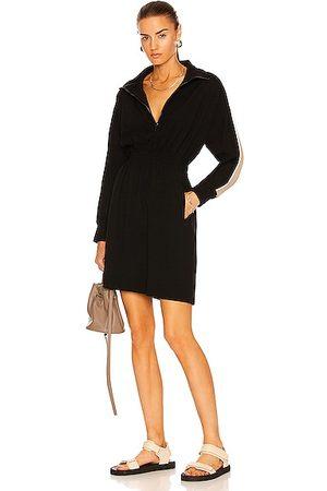Moncler Half Zip Mini Dress in
