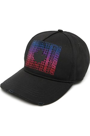 Dsquared2 Men Caps - Multicoloured Repeated Logo Cap