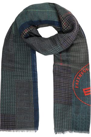 Etro Men Scarves - Cachemere and silk scarf