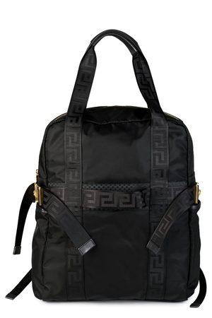 VERSACE Logo Strap Backpack