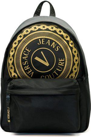 VERSACE Backpack Nylon V-Emblem