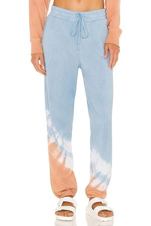 Michael Stars Ray Relaxed Jogger in Baby Blue.