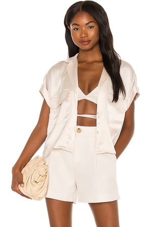 Bailey 44 Becca Blouse in Ivory.