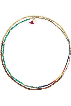 SHASHI The Jane Bracelet in Metallic Gold.