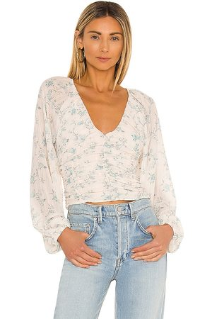 Free People New Final Rose Blouse in White.
