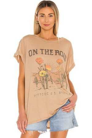 Show Me Your Mumu Airport Tee in Neutral.