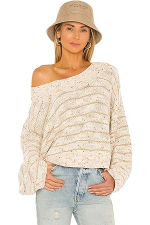 Free People Starlight Pullover in Neutral.
