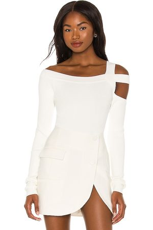 h:ours Milee Long Sleeve Top in .