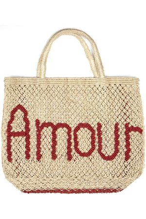 The Jacksons Amour Bag Natural and Red