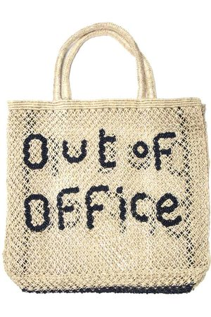 The Jacksons Out of Office Large Natural/Navy Bag