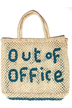 The Jacksons Out of Office Large Bag Natural Ocean