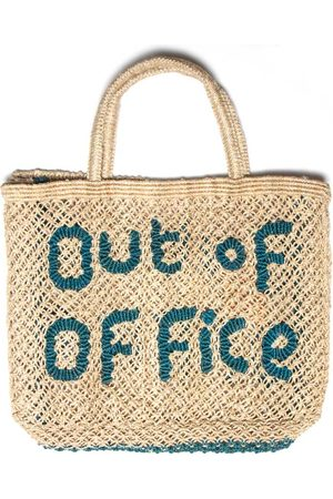 The Jacksons Out of Office Bag Natural Ocean Small