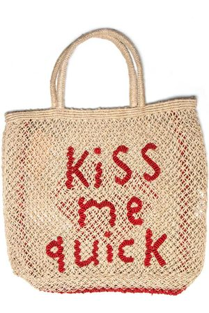 The Jacksons Kiss Me Quick Jute Bag