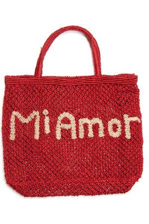 The Jacksons Mi Amor Jute Bag Red