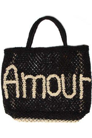 The Jacksons Amour Black Jute Bag