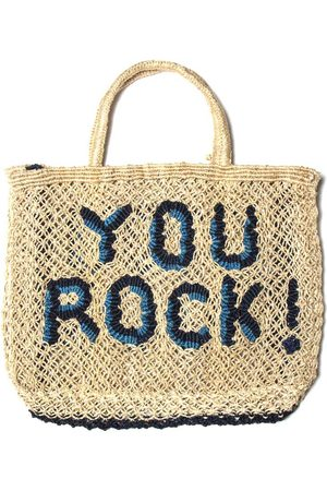 The Jacksons You Rock! Bag Natural with Ocean and Navy
