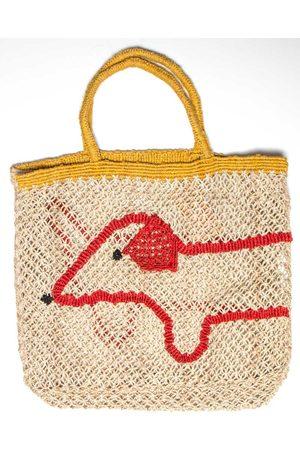 The Jacksons Sausage Dog Jute Bag Large