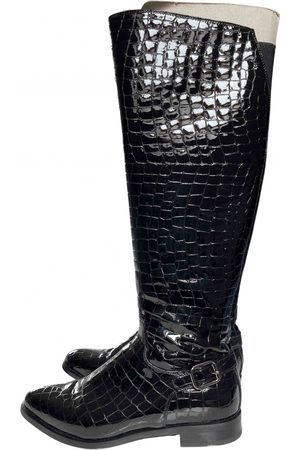 RUSSELL & BROMLEY Patent leather boots