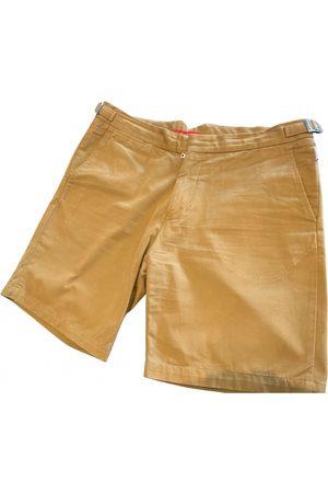 Orlebar Brown Camel Cotton Shorts