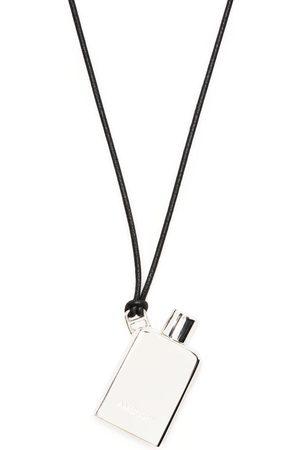 AMBUSH Perfume Pendant Necklace Silver