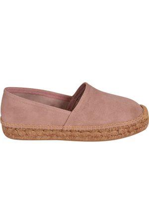 Car Shoe WOMEN'S KDS44O054F0LOZ LEATHER ESPADRILLES